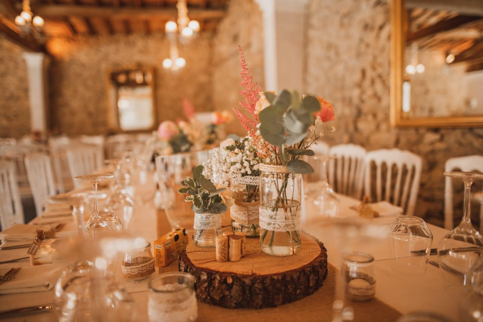 mariage chateau Chavagnac Ardeche