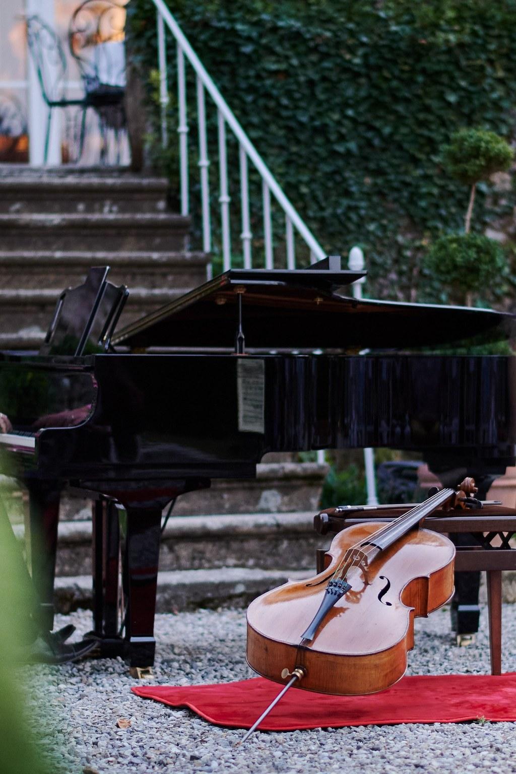 musique classique au chateau chavaganac