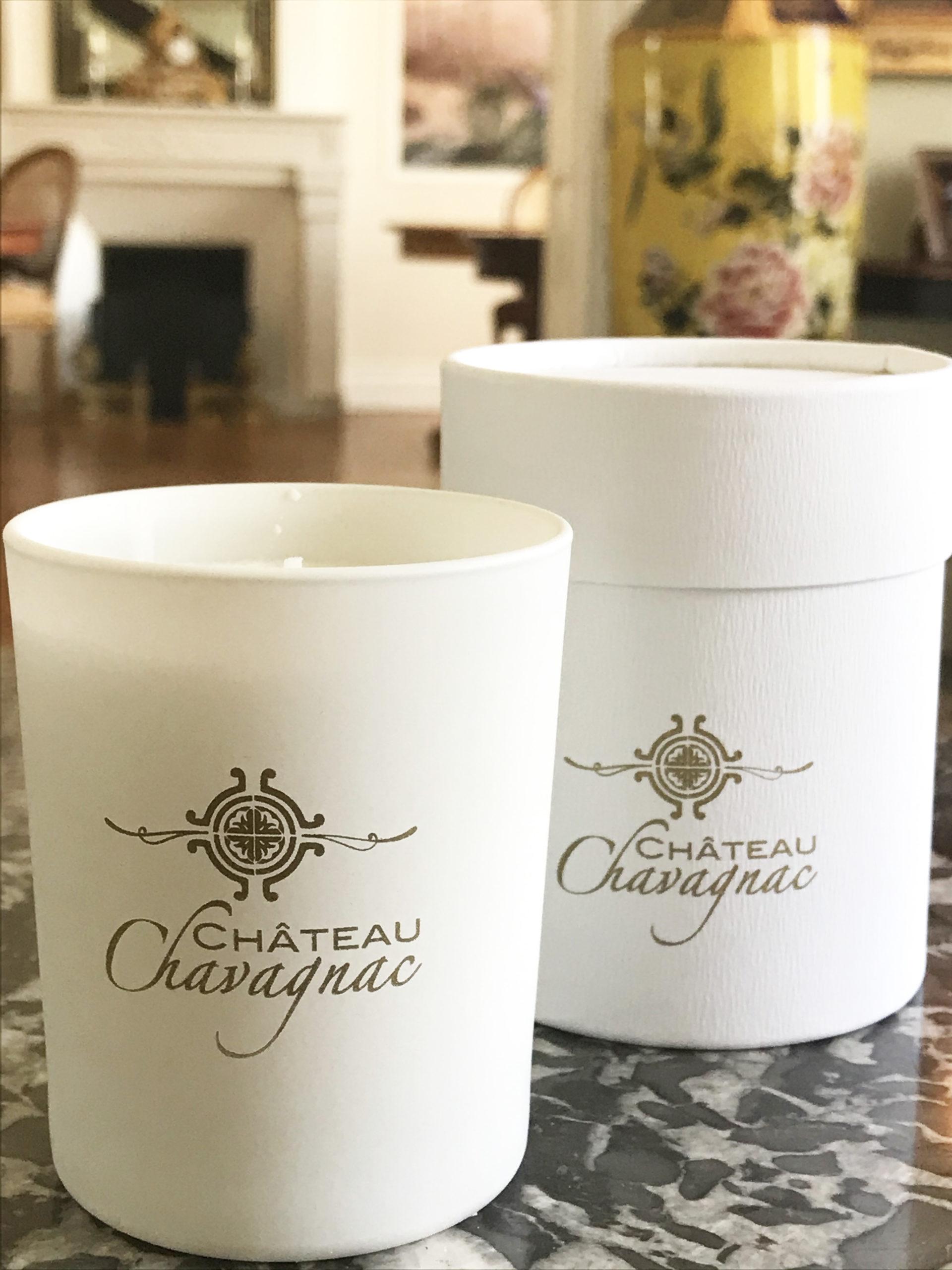 bougie parfumée Chateau Chavagnac