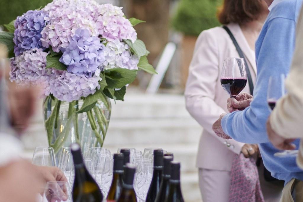 dégustation de vins au chateau Chavagnac