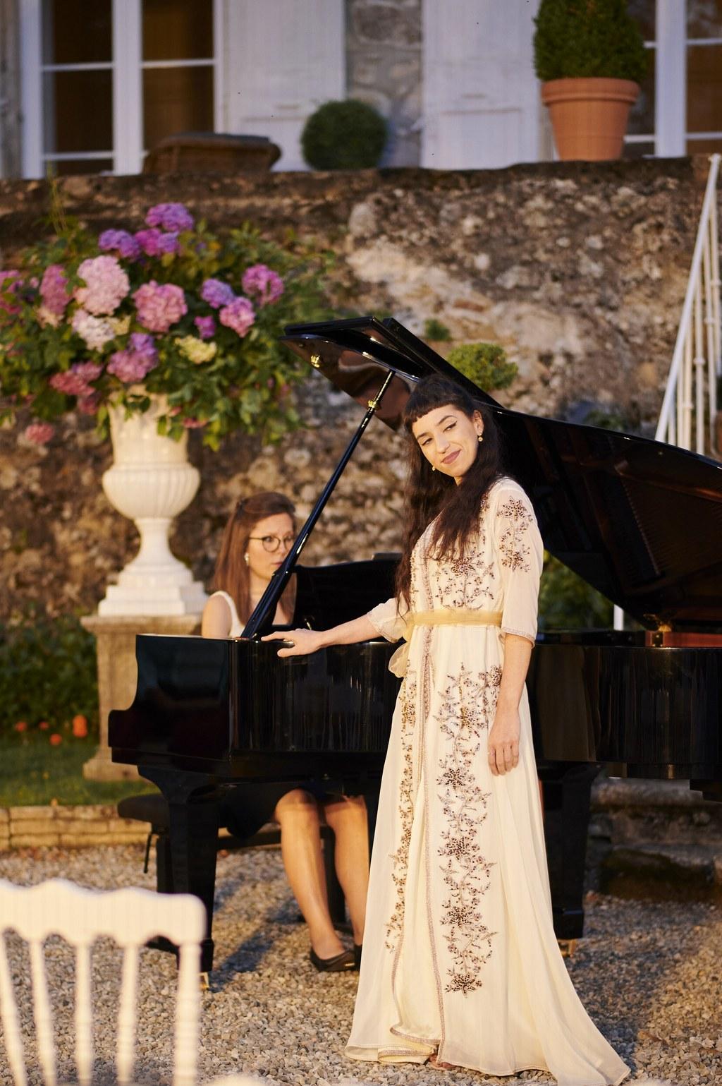 chant lyrique au chateau Chavagnac