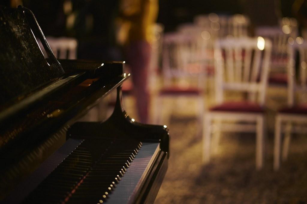 Musique classique dans le parc du chateau