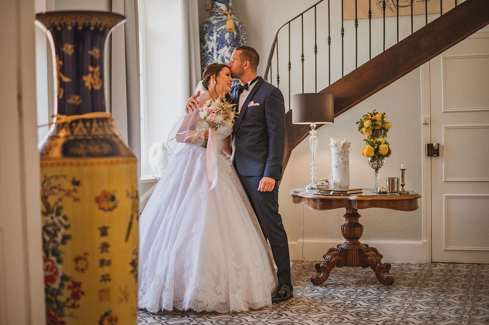 mariage au chateau Chavagnac
