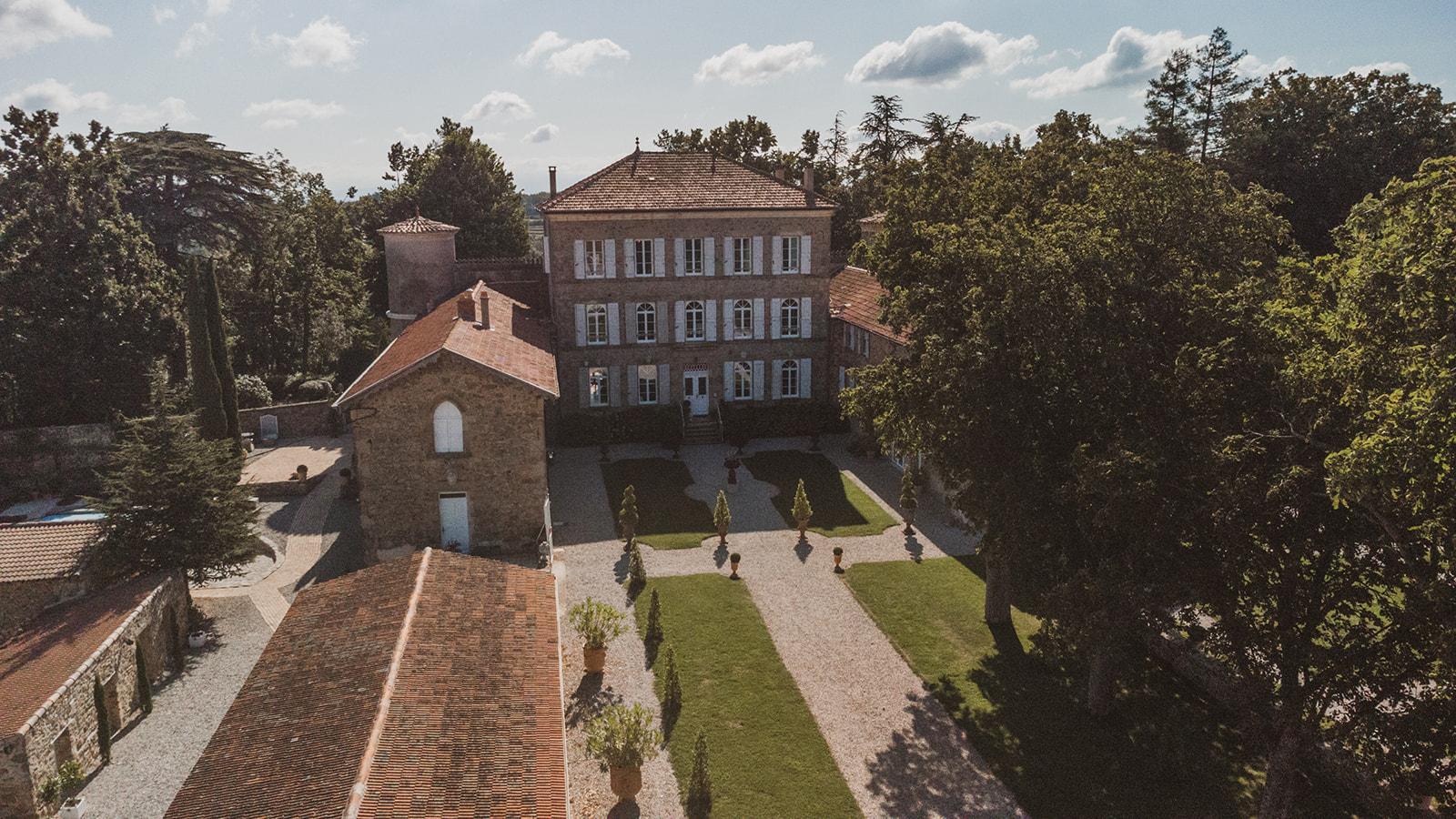 jardin du chateau Chavagnac